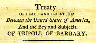Treaty of Tripoli